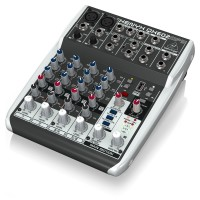 Behringer XENYX QX602MP3 6-Input Mixer with MP3 Player
